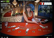 7-Seat Blackjack NetEnt